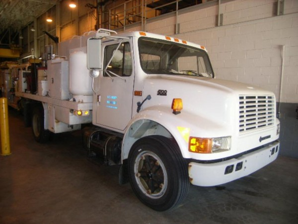 A 1994 lubricating and fuel service truck is among the items up for auction.