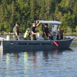 Wardens searching for missing man after boat collision on West Grand Lake