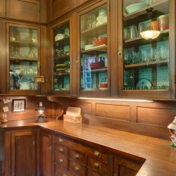 Butler's Pantry in large 1887 Bangor home
