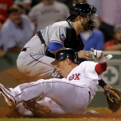 Aviles' RBI single in 9th lifts Red Sox by Rangers