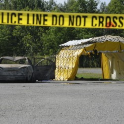 3 homicide victims in burned-out car identified