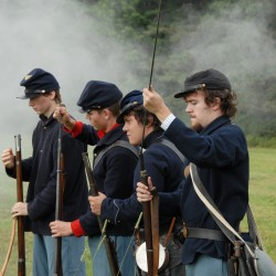 Civil War re-enactors to stage major encampment, battles in August