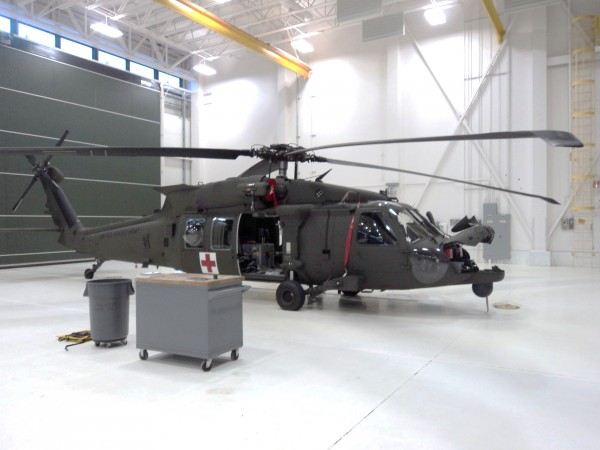 The Maine Army National Guard recently received three of six HH-60 Black Hawk helicopters that have been equipped with specialized equipment for high altitude medical evacuation in Maine and quick emergency medical responses on the battlefield.