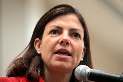 NH Sen. Kelly Ayotte is fighting against a bill to tax Internet sales.