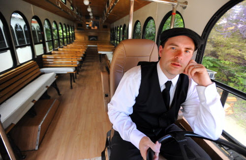 Jim Gamage Jr. of Rockland is a graduate of the Midcoast Leadership Academy.  He said it helped him better manage his businesses and balance his work with personal life. Gamage owns All Aboard Trolley & Limousine Co. and All-4-U Staffing Agency Inc.
