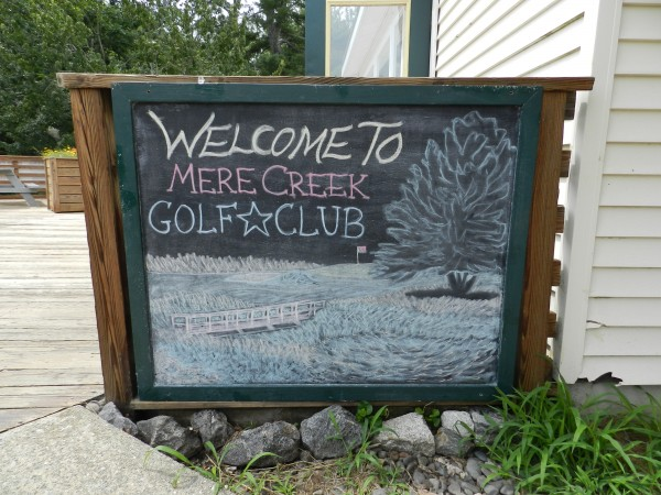 Mere Creek Golf Course was constructed by Brunswick Naval Air Station in 1958 for its servicemen.