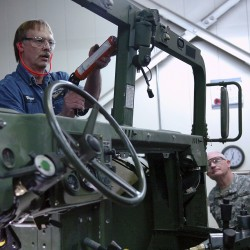 Israeli defense officials to visit Limestone Humvee facility