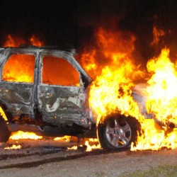 This 2002 Ford Escape was reported stolen by Nicholas Stanley of Paris about the same time it was found burning in Hebron. Police are asking the public's help in tracking the vehicle's movements.