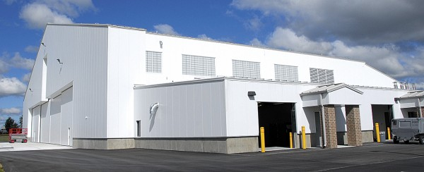 The Fairfield-based Sheridan Corp. has finished building a new $18 million hangar at the Bangor Air National Guard Base. Named Building 499, this hangar will replace the base's existing hangar.