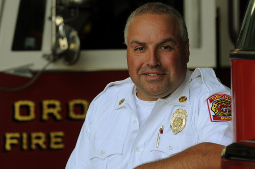 Robert St. Louis has been named Orono's new fire chief.