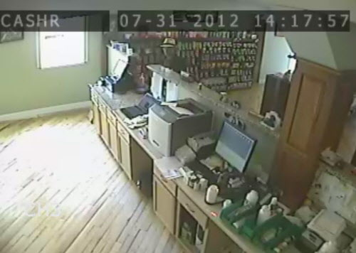 The Rockland Police Department released photographs taken from a video camera at Jensen's Pharmacy that was the target of a robbery on Tuesday afternoon, July 31, 2012.