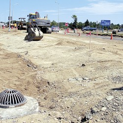 Roundabout to ease traffic near new bridge