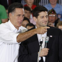 Romney seeks distance from Ryan's hot-potato budget proposal