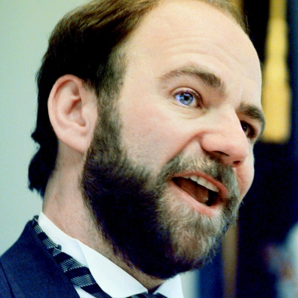 House Speaker Michael Saxl, D-Portland, is shown at the State House on Dec. 20, 2000, in August, Maine.