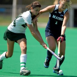 Sacre leads UMaine field hockey past Michigan State