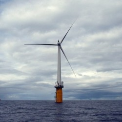 Plans for Maine's first offshore wind turbine moving quickly