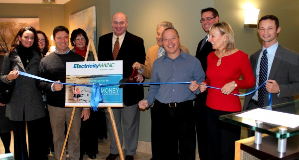 Electricity Maine opened its Auburn offices in December 2011.