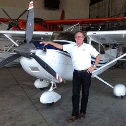 Gene Richardson of Hampden flies his Cessna 182 as a volunteer for Angel Flight Northeast.