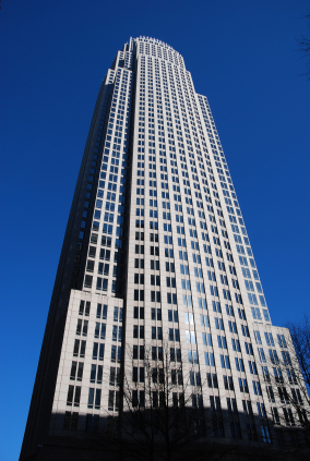 Bank of America headquarters in Charlotte, N.C.