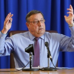 LePage has a storm, possibly involving a brain