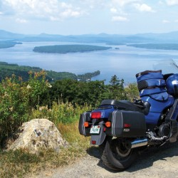 Riders will have amazing views of the Maine landscape.