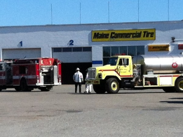 Maine Commercial Tire in Hermon on Friday, Aug. 24, 2012.