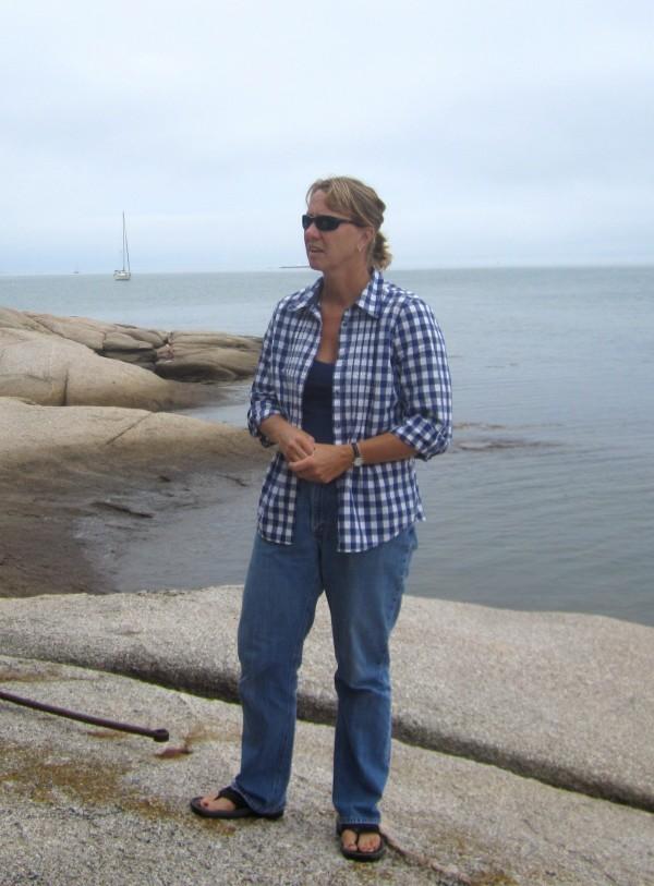 Donna Wiegle of Swan's Island.