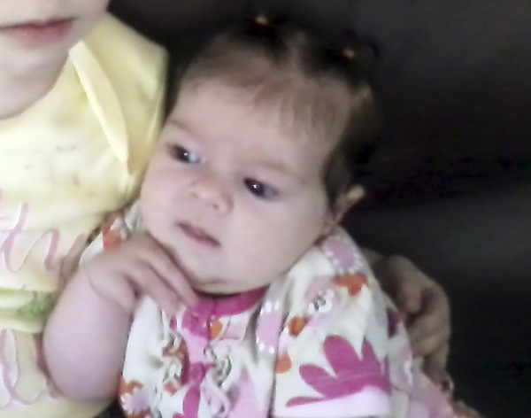 This undated provided by Nicole Greenaway  shows her 3-month-old daughter, Brooklyn Foss-Greenaway, of Clinton, Maine, who died while in a babysitter's care on July 8, 2012. A 10-year-old daughter of the caregiver was charged Thursday, Aug. 30, 2012, with manslaughter in the infant's death.