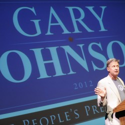SENATE CANDIDATE DODGE: Accepts Gary Johnson's endorsemen
