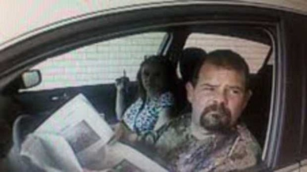 A man and woman making their way down the East Coast are draining bank accounts by stealing identities and bank information from motor vehicles, police said.