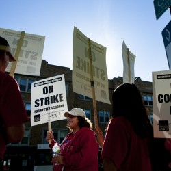 Rahm Emanuel's court bid to end Chicago teachers' strike stalls