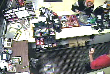 Orono police are searching for the woman in this surveillance image, suspected of robbing the Orono Circle K at 1:30 a.m. Sunday, Sept. 9, 2012.