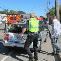 3rd driver sought after two vehicles crash in Rockland