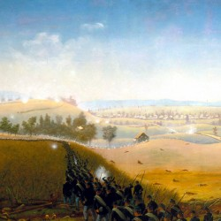 William Deane carried the California Flag into battle at Manassas