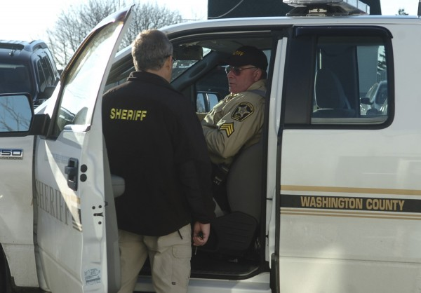 Members of the Washington County Sheriff's Department in 2008.