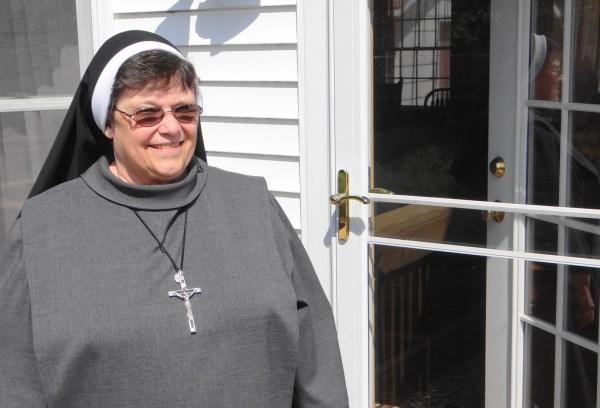 Sister Kathleen Luppens marks 50 years of being in the ministry on Sept. 8, 2012. She and another Catholic nun have established a religious community at the home they share in Stockton Springs.