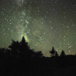 Night sky of Aroostook an awesome sight