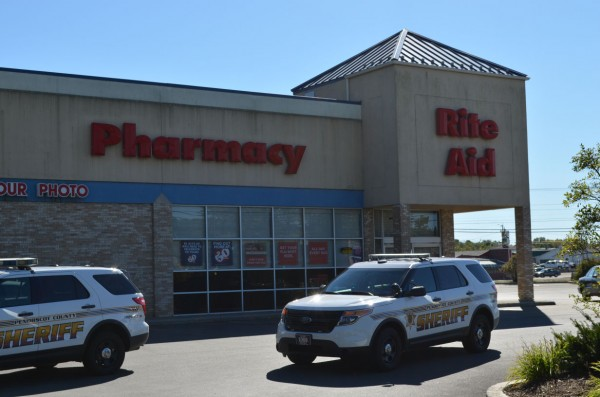Rite Aid Pharmacy in Newport was robbed for the second time in a month on Sunday, Sept. 16.