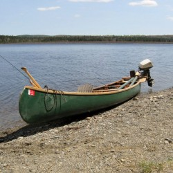 Reward for stolen canoe: $250 and a gallon of gin