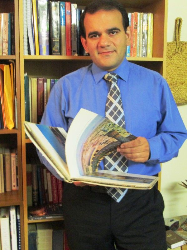 Shahram Firouzian teaches a course at Husson University in Bangor on Persian language and culture.