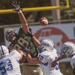 Transition phase continues for Husson football under Murphy