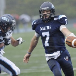 Eighth-ranked UMaine football defeats Villanova in snowstorm for sixth straight win