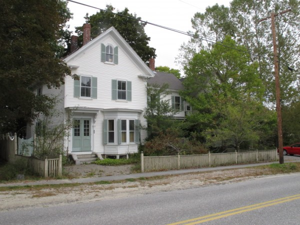 This property at 24 Parker Point Road in Blue Hill was recently purchased by the Blue Hill Memorial Hospital.