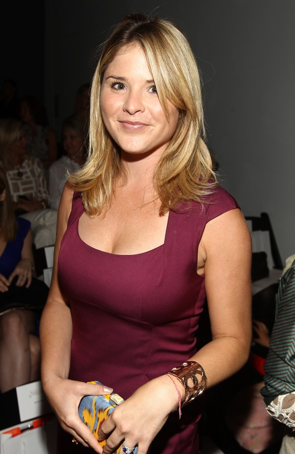 Jenna Bush Hager is seen at the Lela Rose Spring 2013 Runway Show, on Sunday, Sept. 9, 2012 in New York.