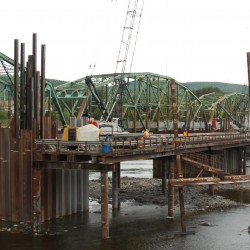 Fort Kent wastewater pipe severed during work on new international bridge
