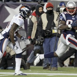 Branch competing for playing time with Patriots