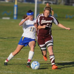 Hermon girls soccer team wins with 10 players