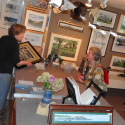 Gallery owner pronounces exhibition a success