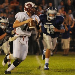 Lawrence shut down Bangor in second half