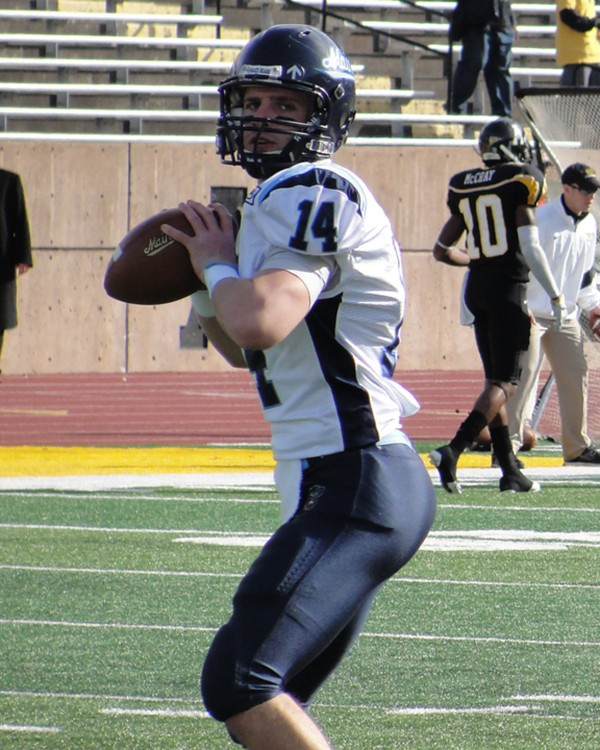Junior quarterback Marcus Wasilewski will make his first start for the University of Maine when the Black Bears visit the Boston College Eagles Saturday.